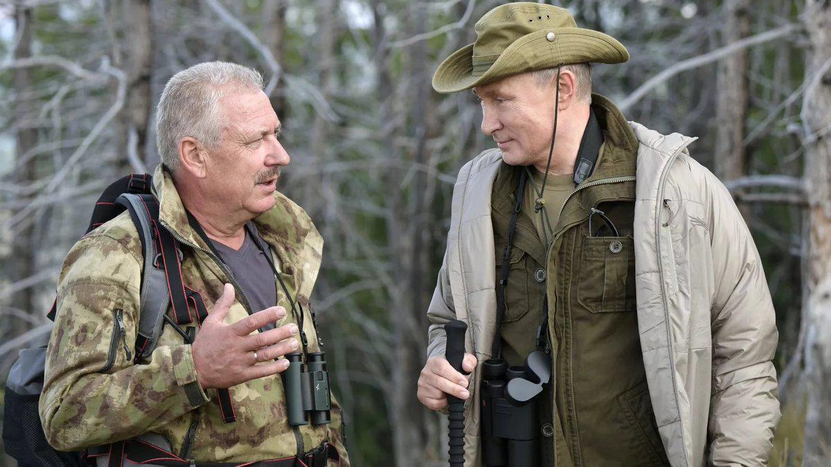 СМИ: В.Путин вывел к людям заблудившегося в тувинской тайге охотника