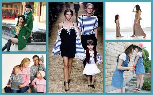 Family Look как модное и красивое направление