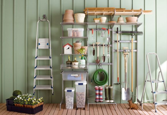 Как хранить садовый инвентарь на даче:
