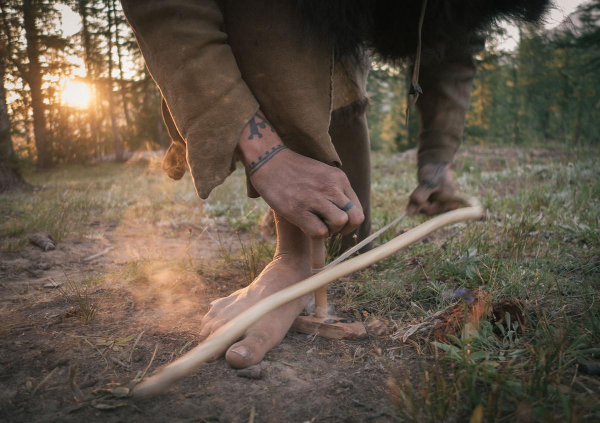 Назад в палеолит: охотники-собиратели 21-го века в фотопроекте «Живущие дикими» 2