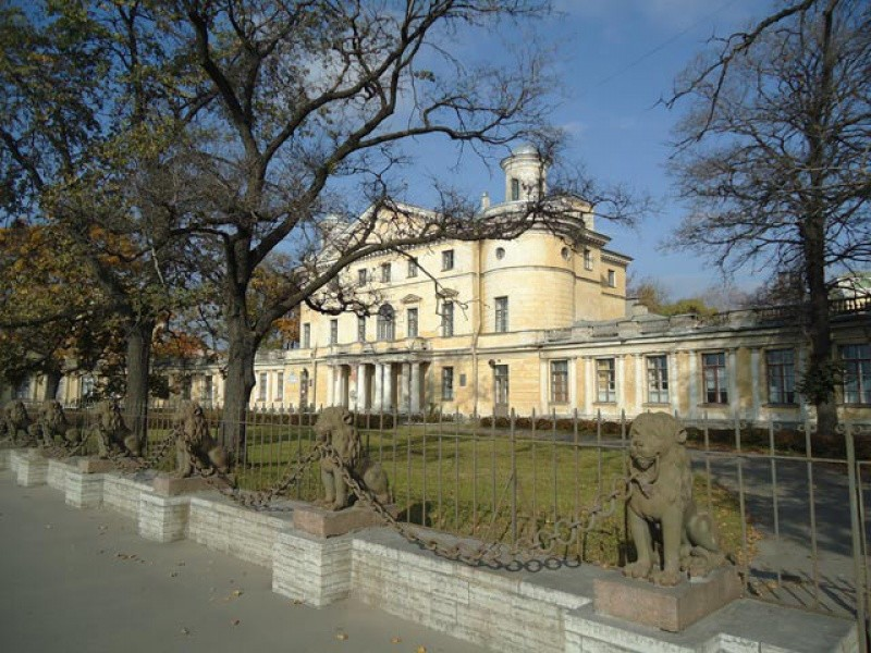 Бывшая усадьба Кушелева-Безбородко Санкт - Петербург, подземные ходы