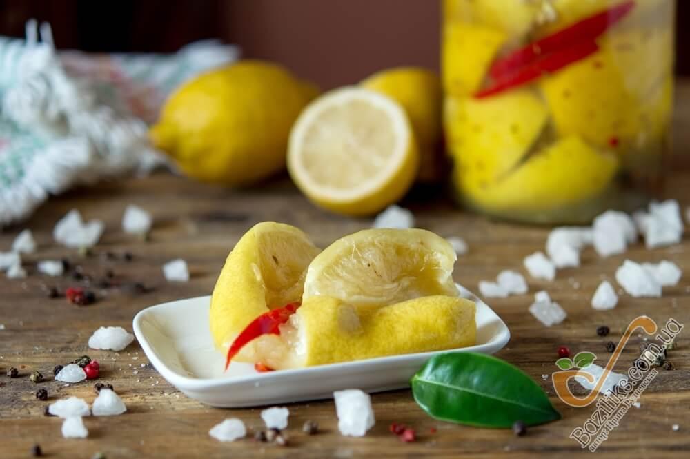 Маринованные лимоны по-мароккански