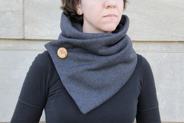 Как сшить флисовый шарф 26