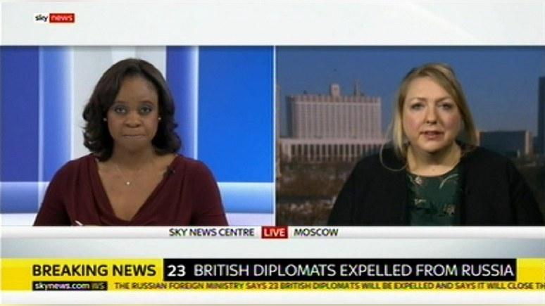 Sky News: выдворение британс…