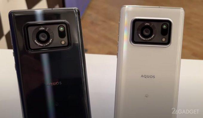 Sharp представила смартфон AQUOS R6 с уникальными технологиями