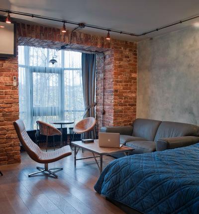 Как организовать пространство в однокомнатной квартире с комнатой 20 м