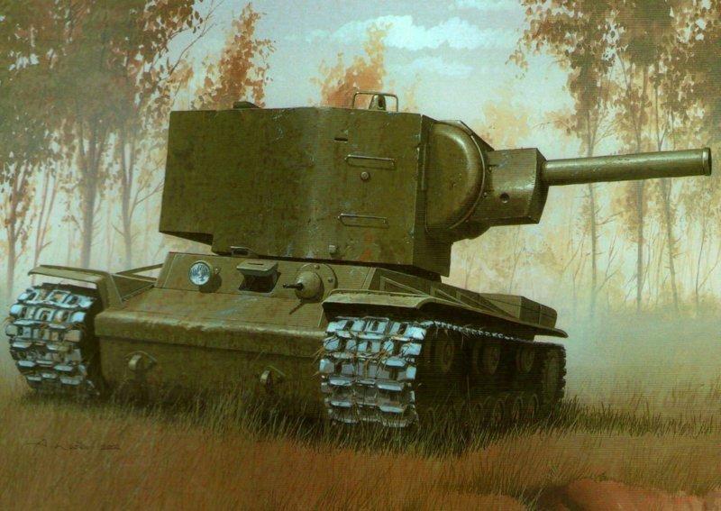 Как немцы не знали что с КВ-2 делать
