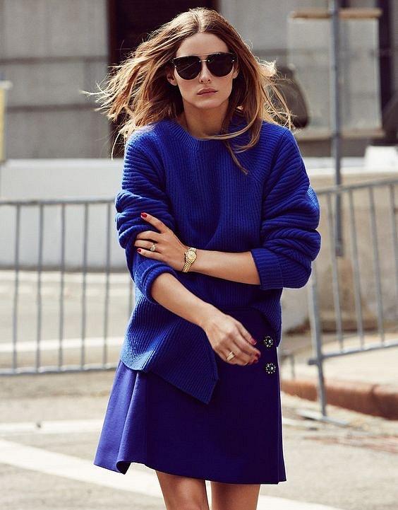 Как носить синий - самый модный цвет 2020 года фото №16