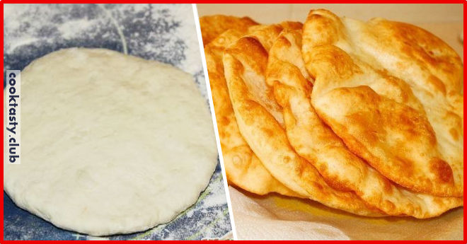 Хрустящие венгерские лепешки с картошкой &8212; Лангоши.