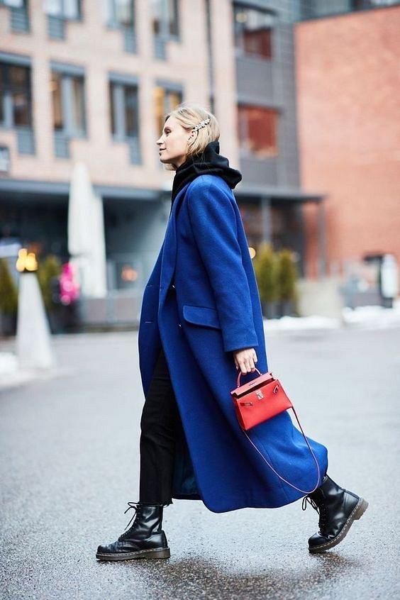 Как носить синий - самый модный цвет 2020 года фото №30