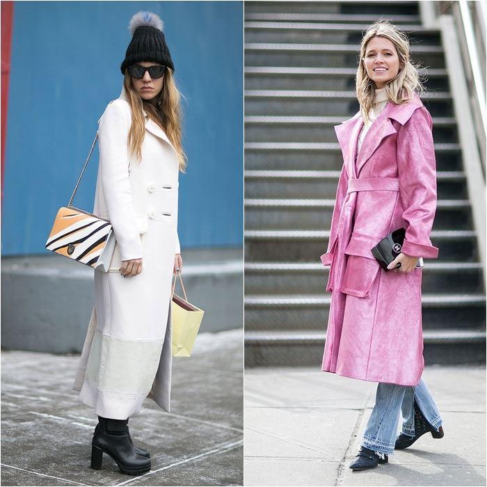 Уличный стиль Нью-Йорка на Неделе Моды осень-зима 2016-2017