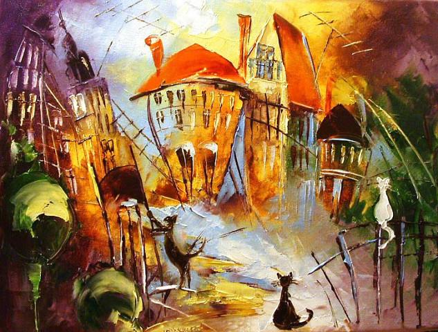 Польская художница Иоланта Ковалик