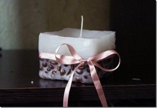 Свечи украшенные лентами своими руками фото 856