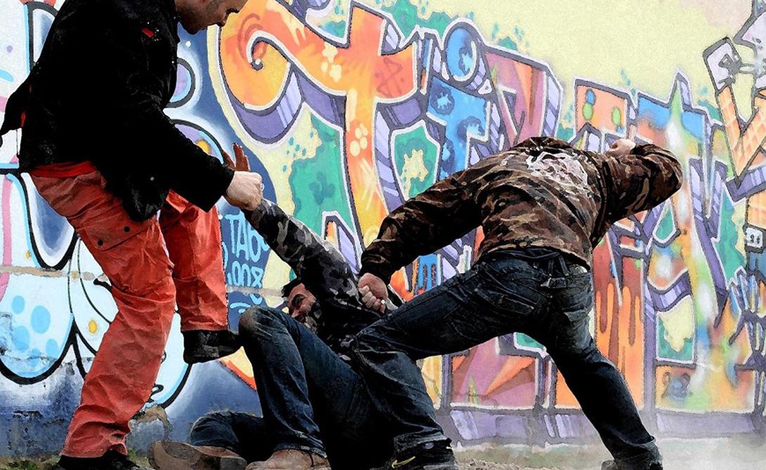Уличные драки в россии смотреть