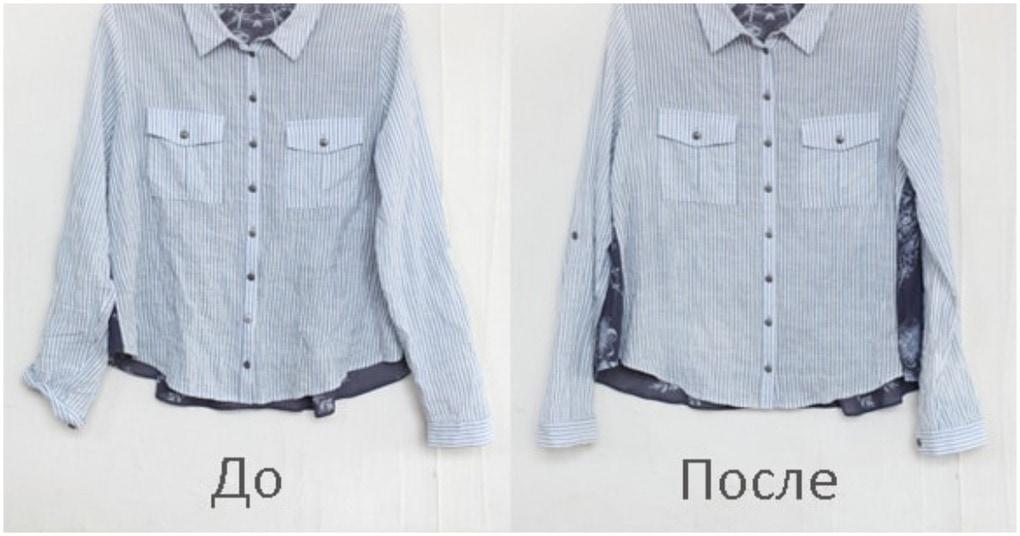 Простой и быстрый способ разгладить мятую одежду без утюга