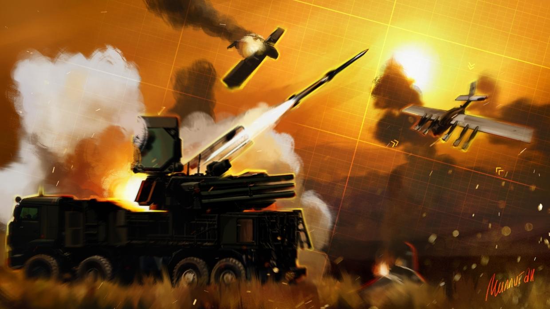"""Российские """"Панцири"""" против турецких БПЛА в Ливии. Разбираем силу русского оружия"""