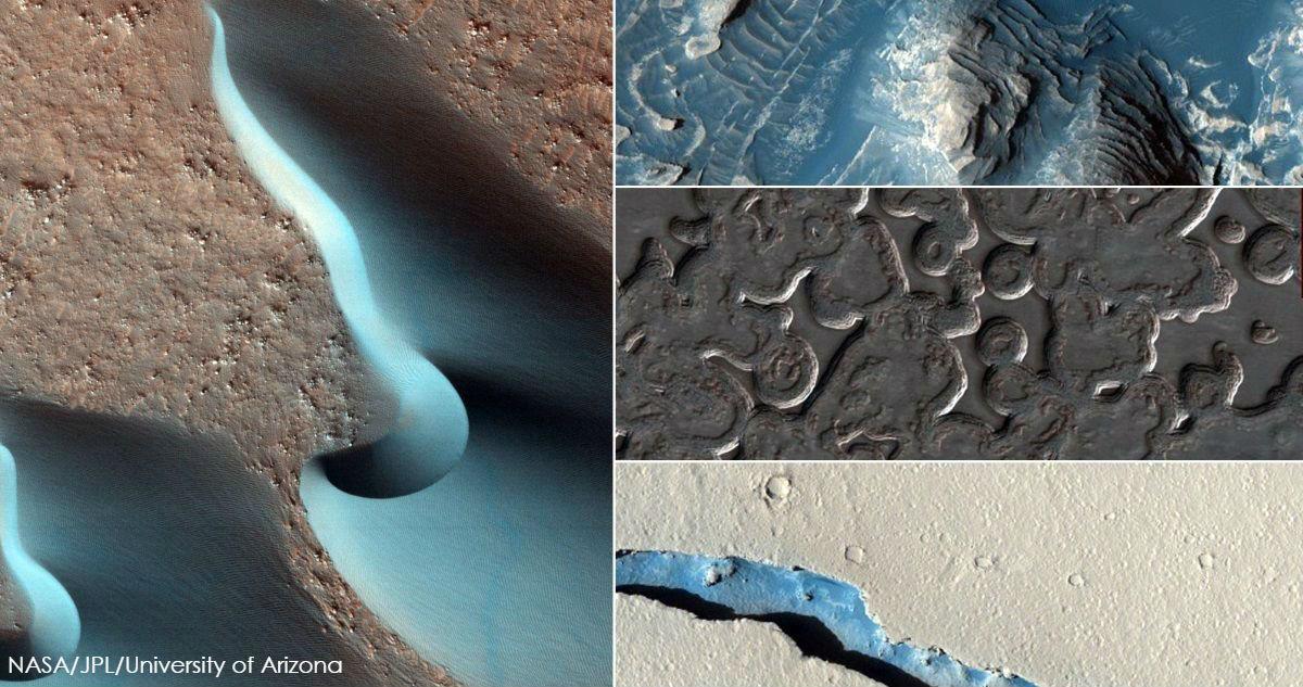 NASA опубликовало 2580 новых фото Марса. Вот самые впечатляющие