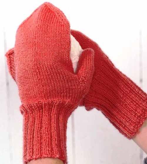 Вязание варежек для начинающих