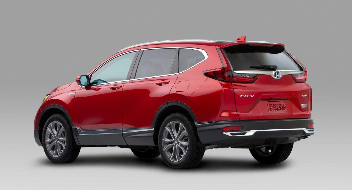 Обновленный Honda CR-V завоевал звание бестселлера в 2020 году Автомобили