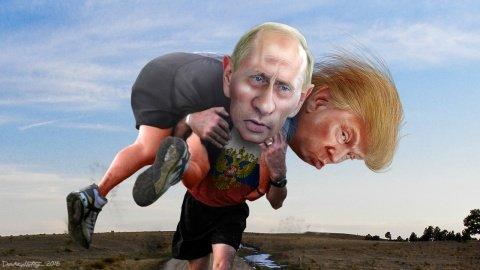 """Трамп назвал Путина """"крепким орешком"""""""