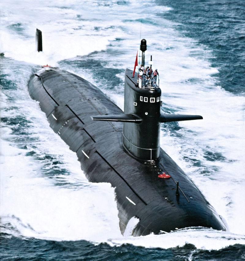 Многоцелевые атомные подлодки «Тип 093»  вмф