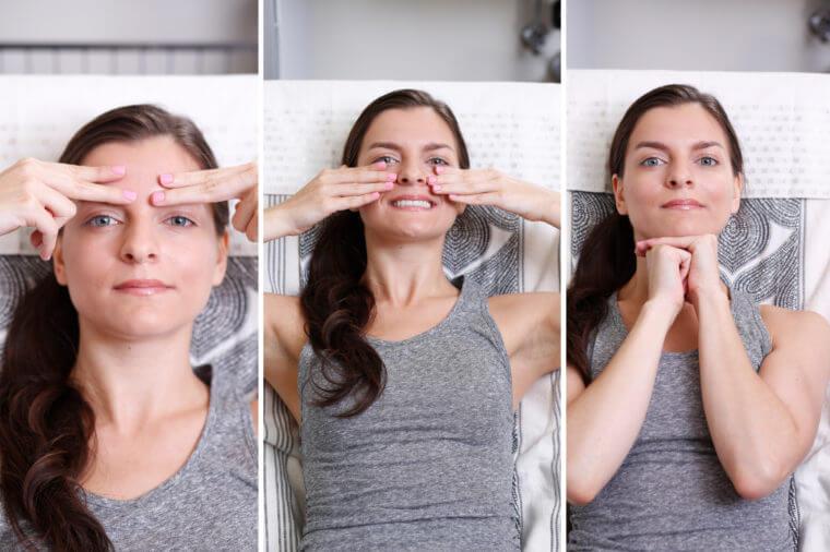 Дерматологи разработали уникальные упражнения, которые реально омолаживают лицо
