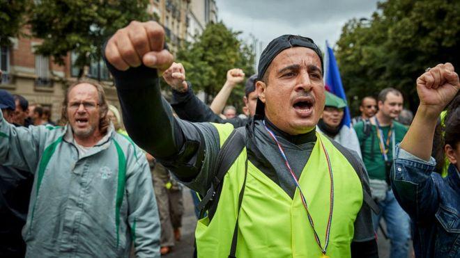 С тех пор как пала Бастилия, французы не думают останавливаться в своих протестах