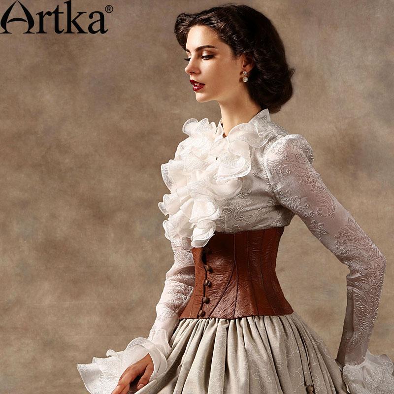 Жабо: волнистое очарование из XVIII века