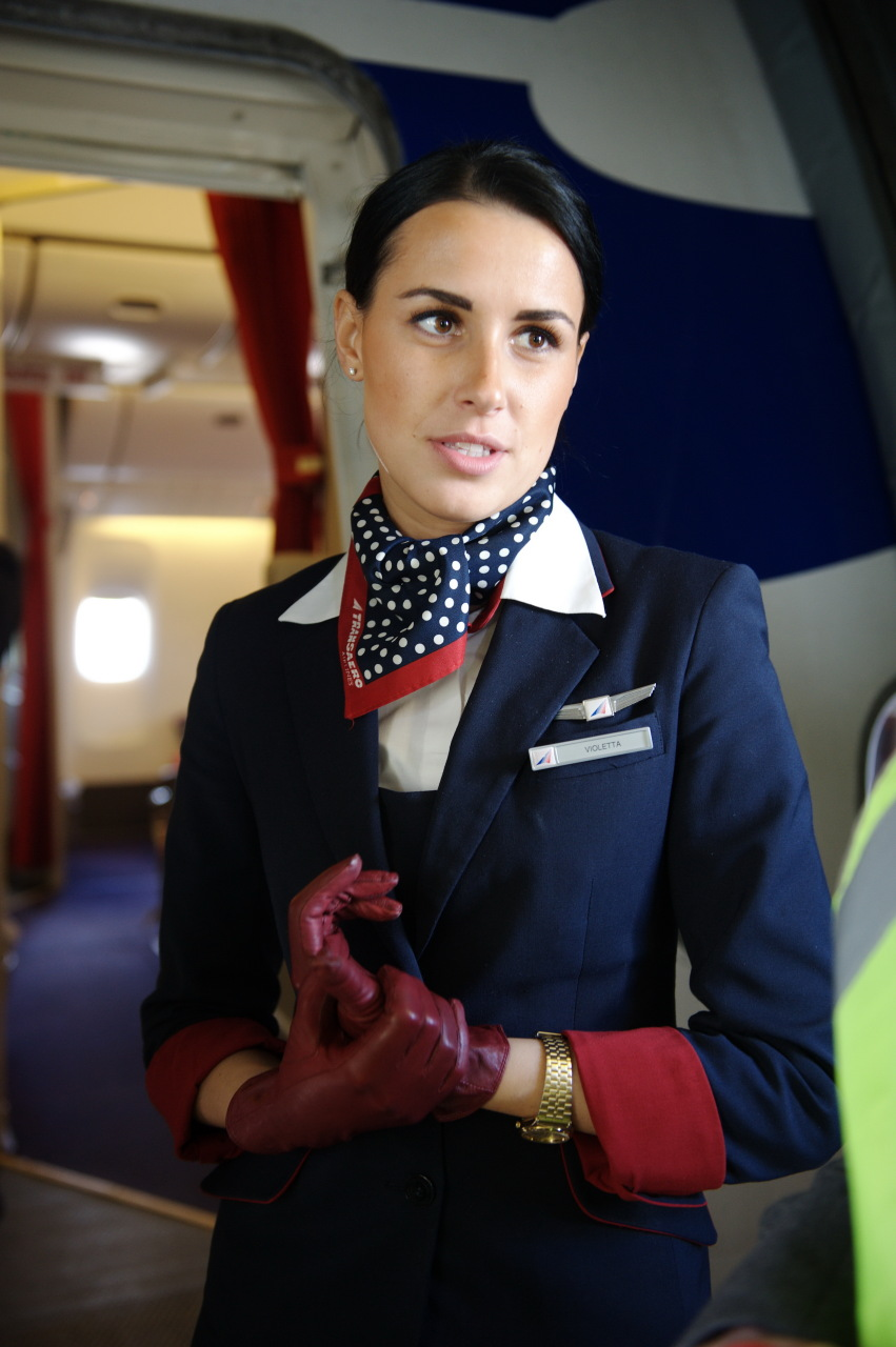 Видео о стюардессах