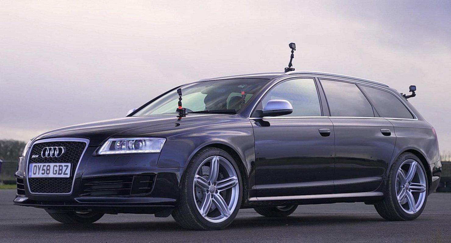 BMW M5 V10, Mercedes-Benz E 55 AMG и Audi RS6 сразились в дрэге Автомобили