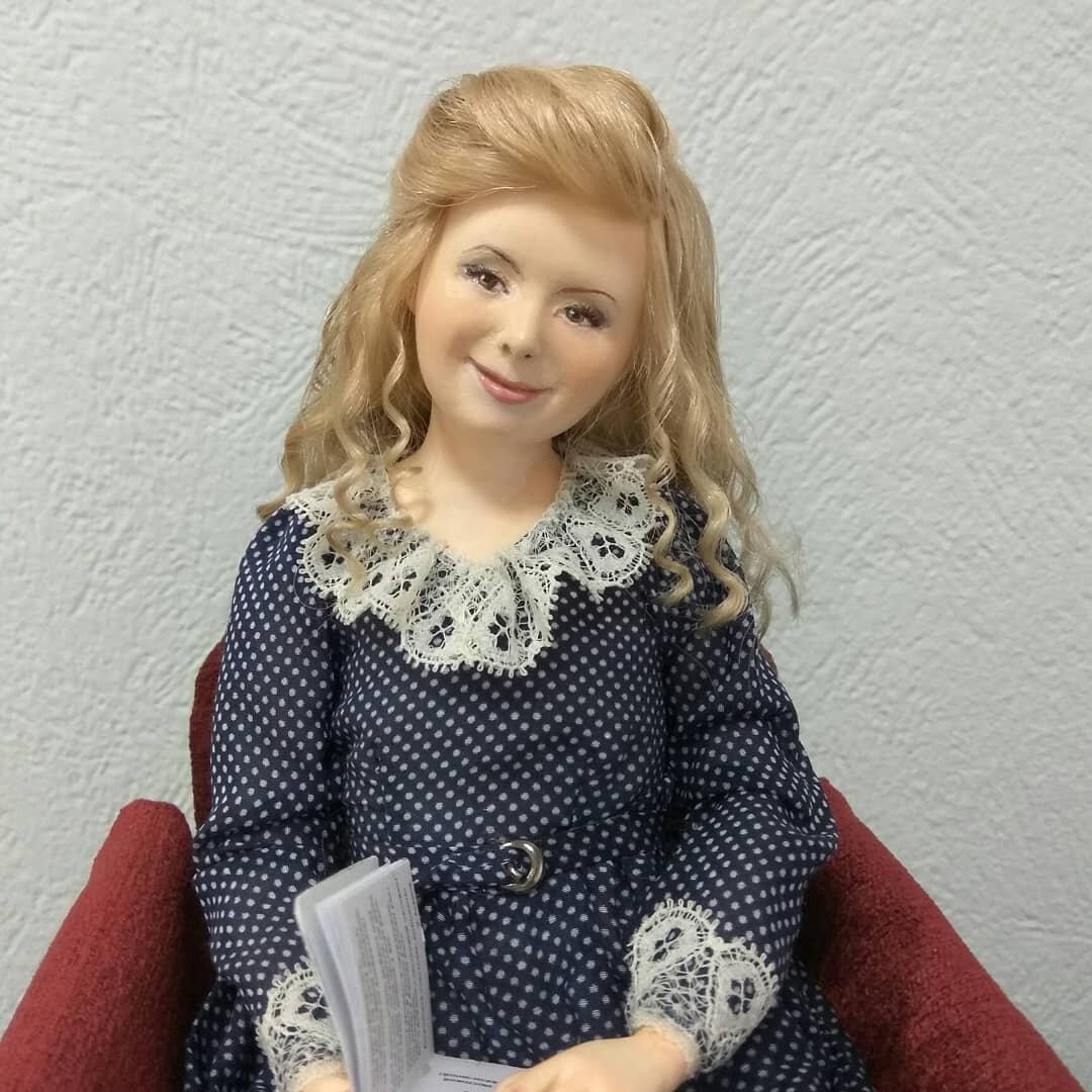 Удивительно характерные куклы пермской рукодельницы, которых оценят люди, рожденные в СССР куклы,мастерство,рукоделие,творчество