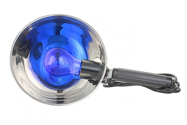 пргревающая синяя лампа от шишек