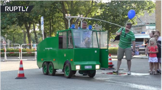 Полиция Берлина показала дет…