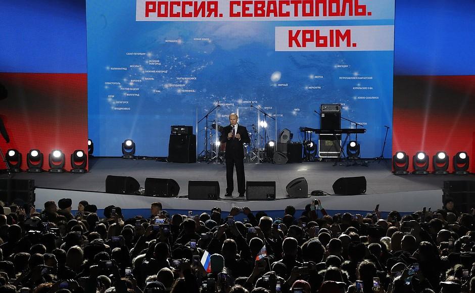 Владимир Путин посетил Севастополь