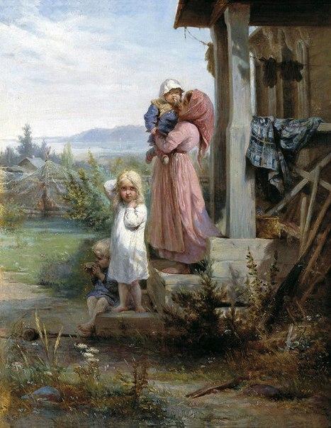 Что умела девочка 10 лет (без помощи взрослых), живущая в селе век назад