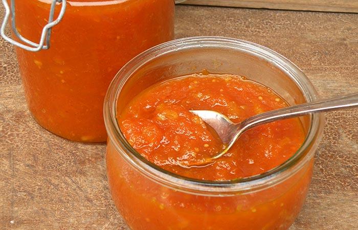 Морковное варенье с лимонным соком