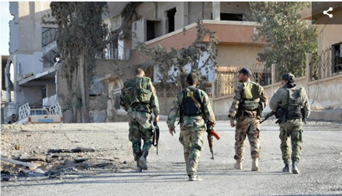 Сирийская армия разбила круп…