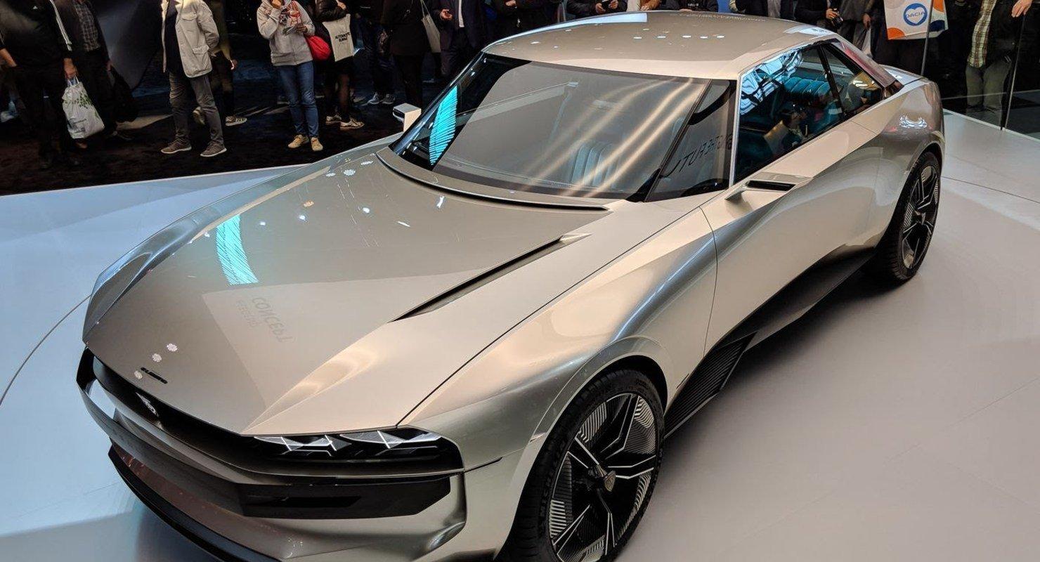 Большое купе Peugeot e-Legend: Будущий флагман Автомобили