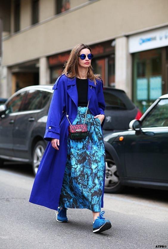 Как носить синий - самый модный цвет 2020 года фото №22