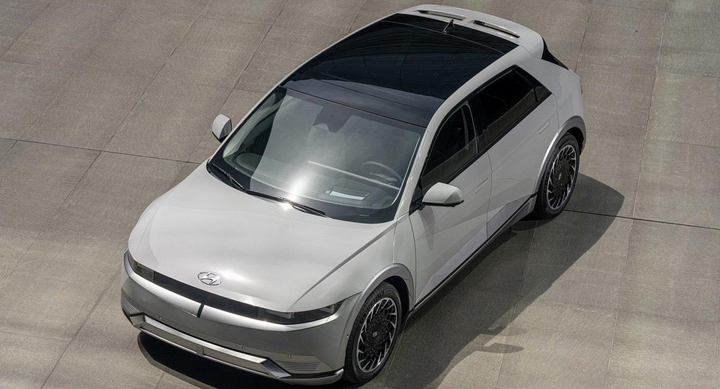 Компания Hyundai официально представила электрический кроссовер Ioniq 5 2022 года в США Автомобили