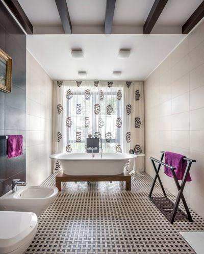 Современный Ванная комната by Студия juicy-hall