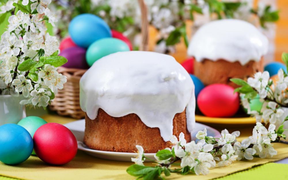 Когда красить яйца, печь и освящать куличи!