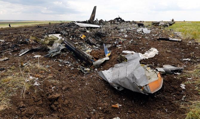 Над Луганском сбит самолет Ил-76 (фото №3)