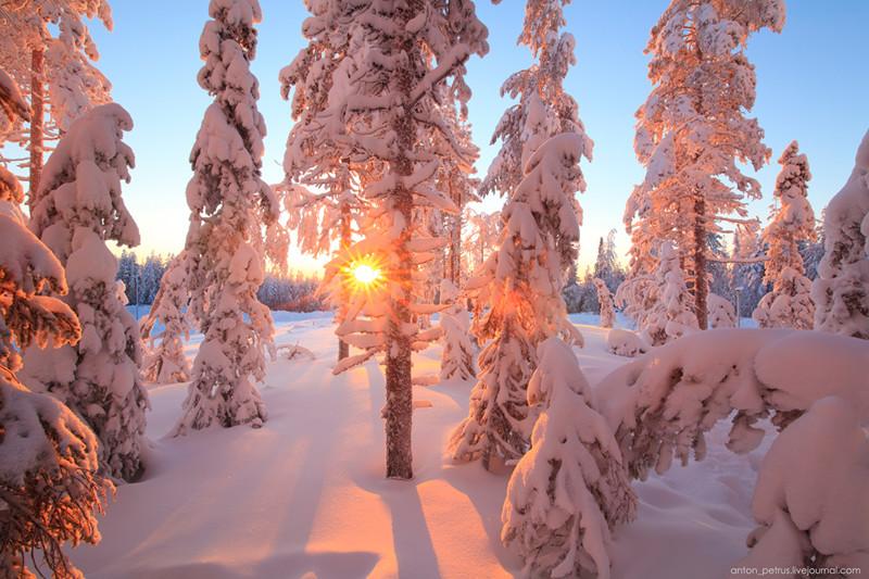 Красивые пейзажи. Фотограф Антон Петрусь