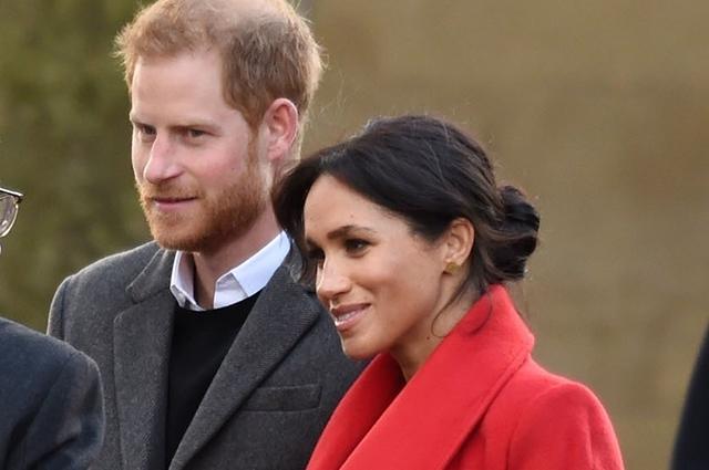 Принц Гарри и Меган Маркл приехали с визитом в Биркенхед