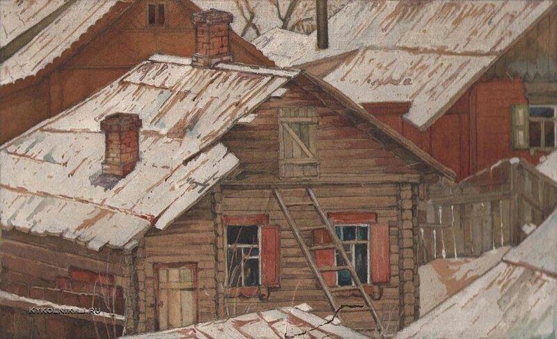 Советская жизнь в живописи живопись