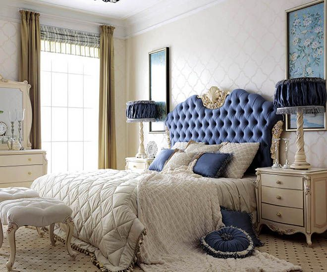 классический стиль синий