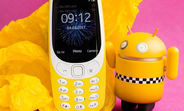 В России открыт предзаказ на Nokia 3310