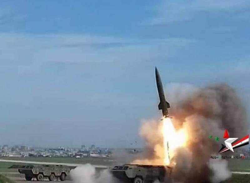 Сирийские «Точки» накрыли террористов в Северной Хаме