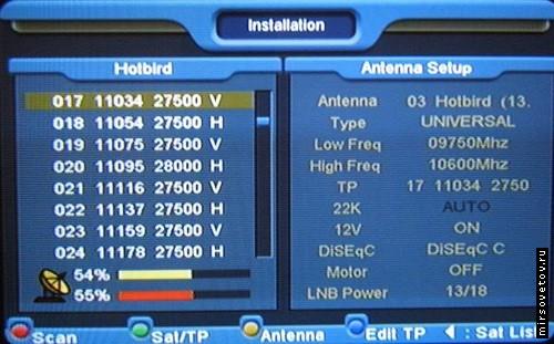 Частоти порно канал в для настройки тюнера спутн к hotbird hust ler tv